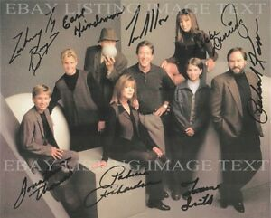 Details about HOME IMPROVEMENT TOOL TIME FULL CAST SIGNED AUTOGRAPH 8x10 RP  PHOTO TIM ALLEN