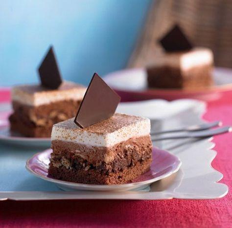 Schoko Kaffee Schnitten Rezept Kaffee Und Kuchen Kuchen Und Kuchen Und Torten