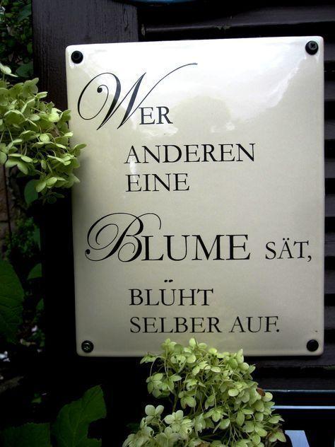 Edles Spruchschild – eine großartige Ganzjahreszier im Garten. Gewölbte Ausfü…