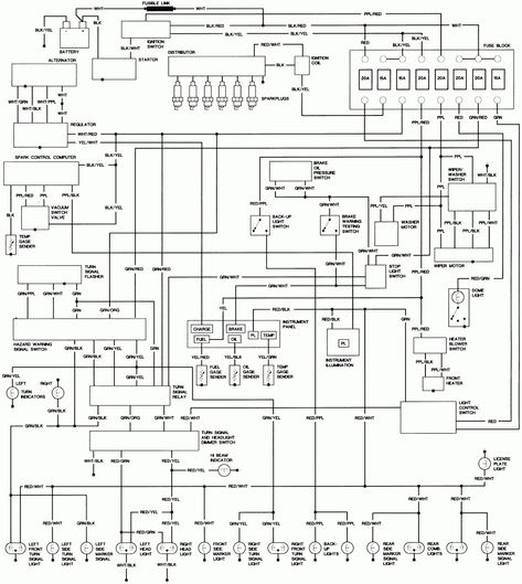 Toyota Coaster Wiring Diagram Schematic   WiringDiagram.org   Circuit  diagram, Electrical circuit diagram, DiagramPinterest