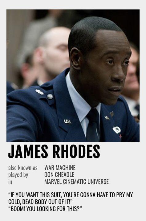 James Rhodes Polaroid Poster