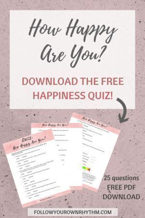 3 Ways to be Truly Happy (+ free happiness quiz) | Personal