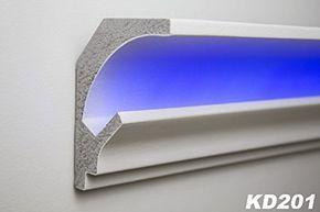 115 meter led stuckleiste fr indirekte beleuchtung xps https - Wohnzimmer Led Beleuchtung