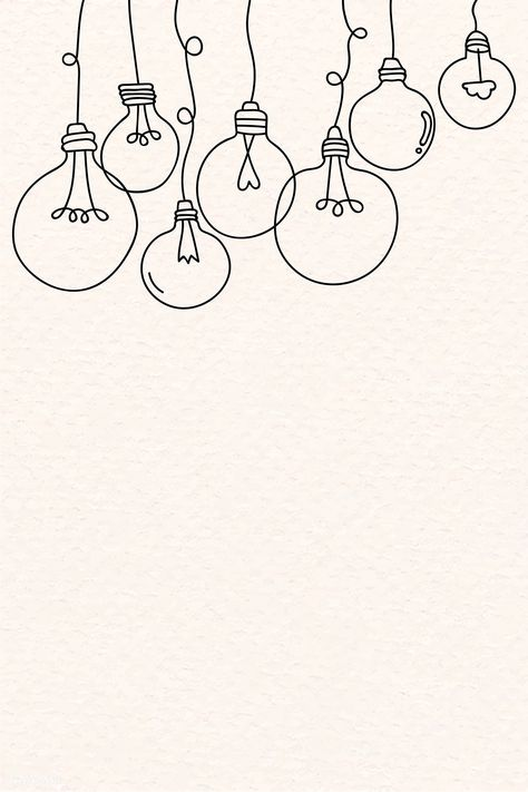 Creative light bulb doodle on beige background vector free image by rawpixel com marinemynt - Bullet Journal Writing, Bullet Journal Aesthetic, Bullet Journal Ideas Pages, Bullet Journal Inspiration, Doodle Inspiration, Journal Español, Easy Doodle Art, Doodle Art Drawing, Doodle Art Designs