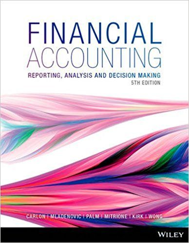 financial reporting analysis 5th edition solution manual