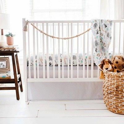 Jungle Crib Bedding Zoo Baby Bedding Gray Crib Bedding Crib Rail Cover Jungle Crib Bedding Grey Crib Bedding