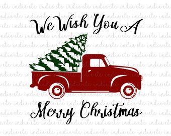 Image Result For Truck With Christmas Tree Coloring Page Christmas Tree Coloring Page Christmas Svg Files Free Christmas