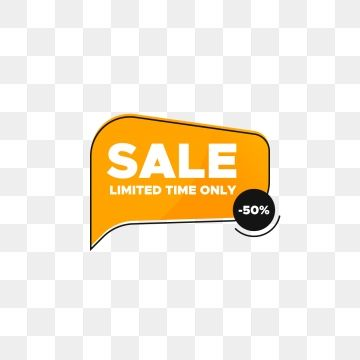 Sale Tag Banner With Discount Offer For Social Media Sale Promotion Discount Price Tag Png And Vector With Transparent Background For Free Download Social Media Icons Free Social Media Social Media