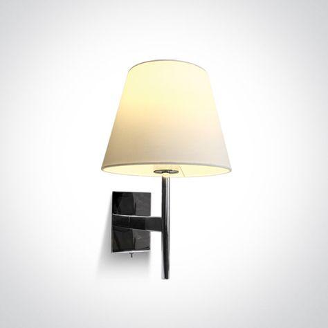 One Light Zidna Svjetiljka 40w E27 Krom Dm61076 C Wall Lights Lamp Sconces