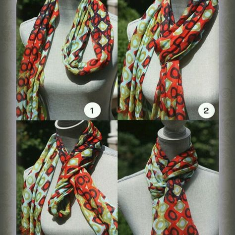 Spartina 449 Modern Lux Squared scarf tied into a Queen's Drape - Spartina available at Walker Boutique!clever scarf tying ideas by serena{Fashion Stylist} 3 Clever Ideas for Scarf Ty ingAdorable and clever way to tie a scarf! I love the detail and t