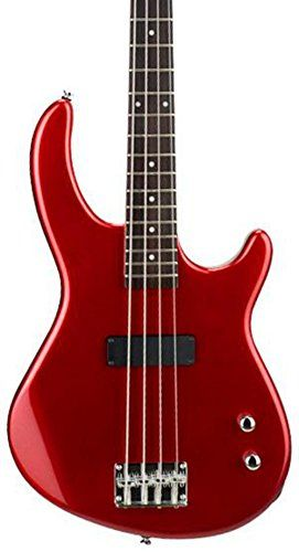 Dean E09m Edge Mahogany Electric Bass Guitar Metallic Red Be Sure To Check Out This Awesome Product It Is Amazon Affiliate With Images Electric Bass Bass Guitar Guitar
