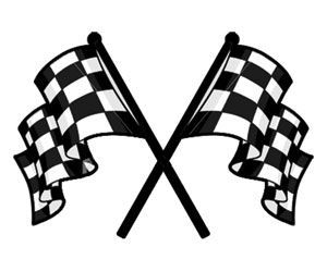 27+ Crossed checkered flags clipart information