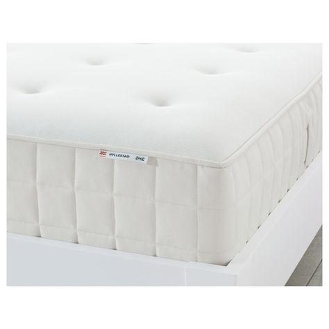 Ikea Materassi A Molle.Hyllestad Materasso A Molle Insacchettate Semirigido Bianco