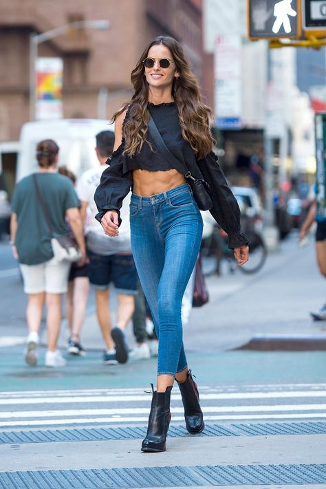 Model Izabel Goulart attends call backs for the 2017 Victoria's Secret Fashion Show in Midtown on August 21 2017 in New York City