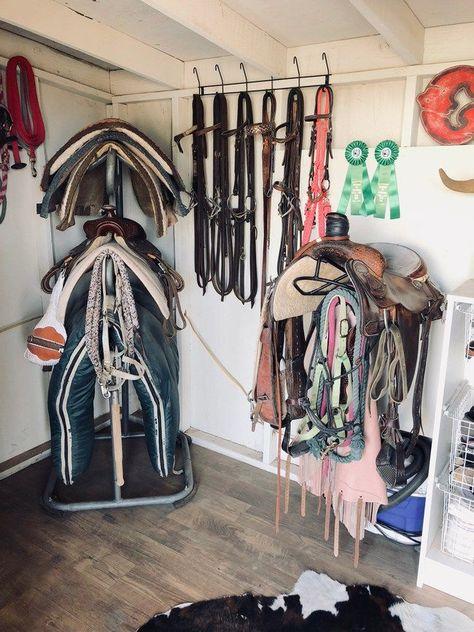 Horse Stables Riding or Driving Whips Rack Bracket Hanger Holder Storage