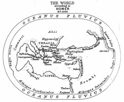 The World According to Homer, 1895. Use Simon Garfield's