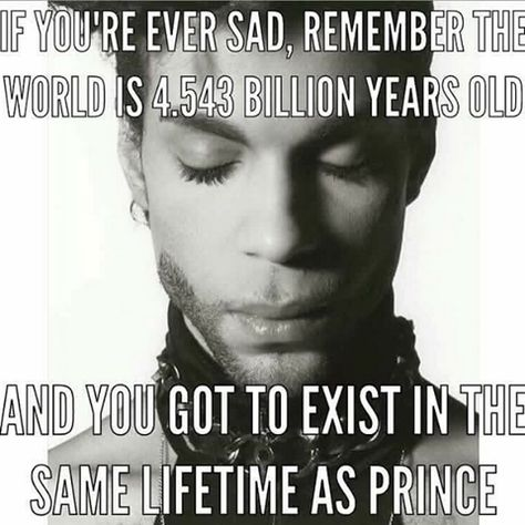 Yes, this is true! Did you hear the Prince episode? Nothing Compares to Hanging with Prince! (And, Shanti Hendricks is back!) Check it out!