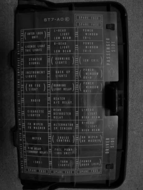 Del Sol Fuse Box Wiring