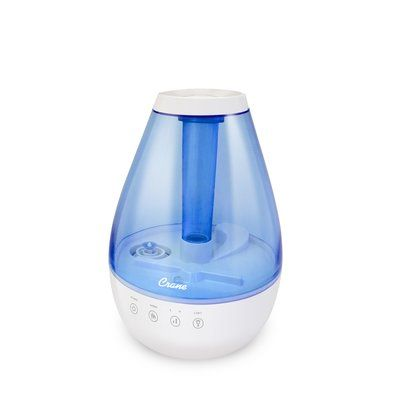 Crane® Blue & White 1 Gallon Warm & Cool Mist Humidifier