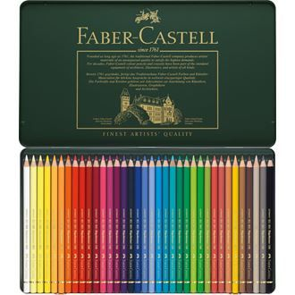 Faber Castell Colour Pencil Polychromos Tin Of 36 Faber