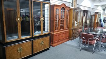 Meubles Usages Montreal Meubles Grand Berger In 2020 Furniture China Cabinet Home Decor