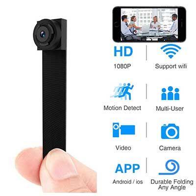 WIFI Hidden Mini Spy Camera Wall Charger Wireless HD 1080P USB Phone CA