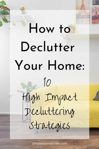 20 Ways To Declutter Your Home Infographic Check Out This Post On How To Declutter Your Home Decluttering Tips Min Declutter Your Home Declutter Clean House