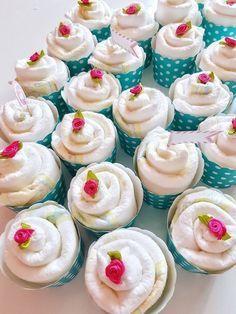Hallo Baby Windel Cupcakes Geschenk Zur Geburt Basteln