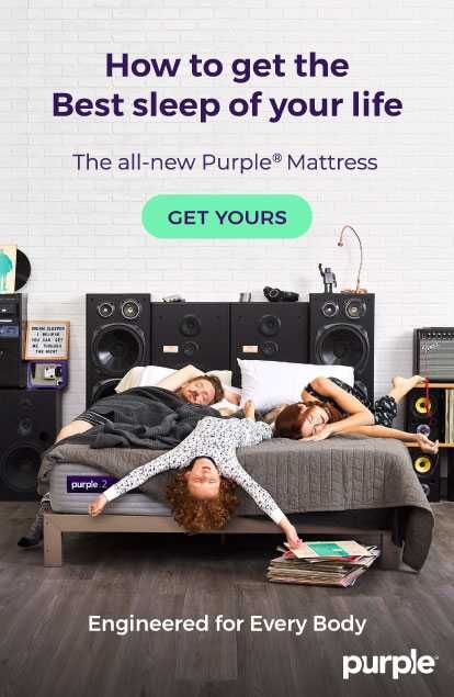 The New Purple® Mattress Is Engineered For Every Body