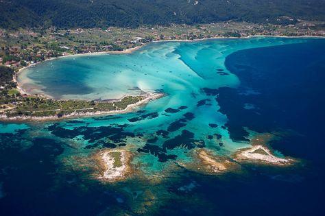 Reportage sur la presqu'île de Sithonia, en Macédoine, à l'hôtel Ekies All Senses Resort