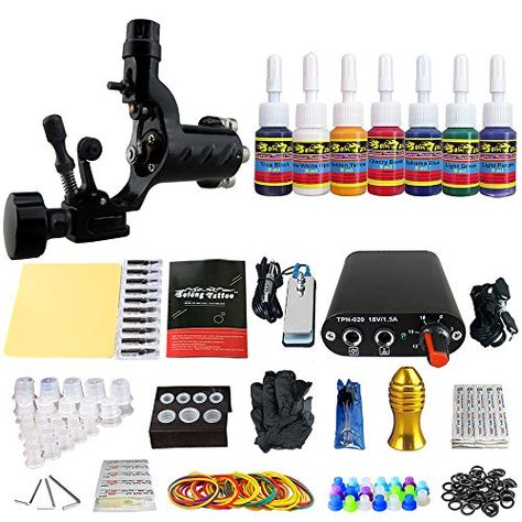 Solong Tattoo Machine Set Tk10532 Click Image For More