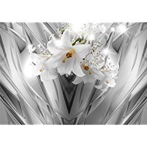 Decomonkey Fototapete Blumen Lilien 3d Effekt 350x256 Cm Xl