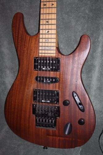 Ibanez S540 All Natural wood grain Floyd Rose Locking Tremolo