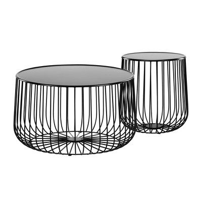 Temple Webster Trevi Wire Side Table Reviews Round Black