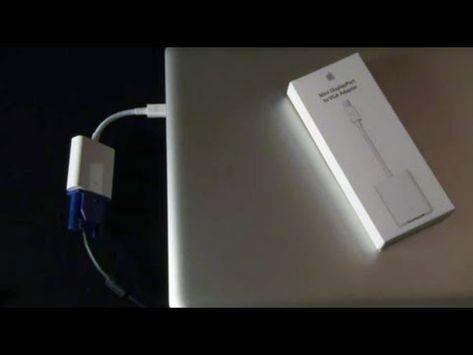 macbook pro projector hookup