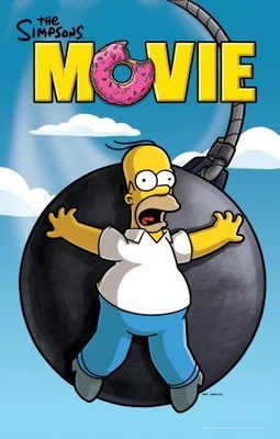 The Simpsons Movie Poster Id 673100 The Simpsons Movie The Simpsons The Simpsons Tv Show