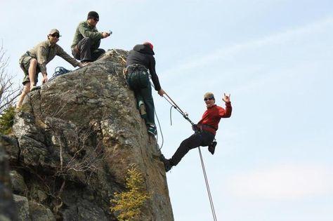 Rock Climbing Near Marble Mountain Rock Climbing Newfoundland The Rock