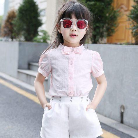 49e907bc20c Блузки для девочек (61 фото)  детские нарядные и молодежные модели ...