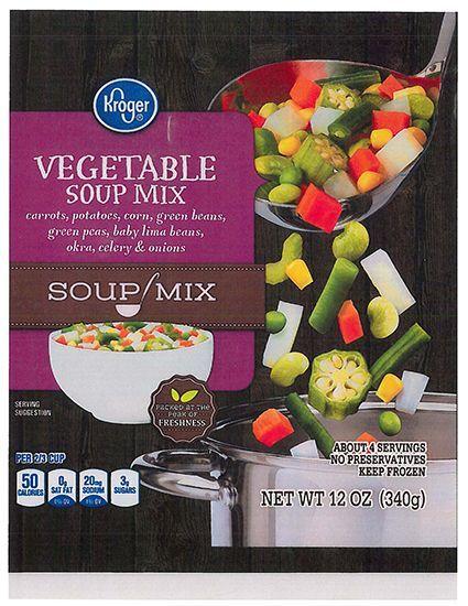 Image result for frozen soup vegetables kroger