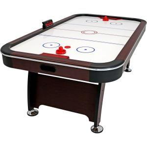 Espn 8 Ft Silver Streak Air Powered Hockey Table In 2020 Air Hockey Games Air Hockey Table Games