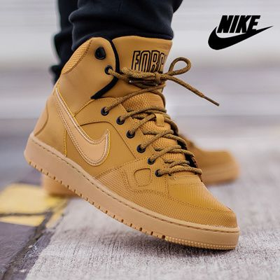 Milagroso Sala Discurso  NIKE SON OF FORCE MID WINTER Nike San-of-Force Mid-Winter Men's sneakers  [807242-770] | Sneakers, Nike, Sneakers men