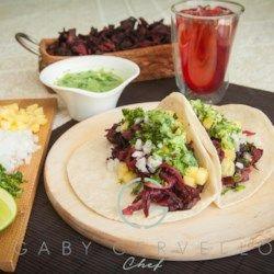 Tacos De Jamaica Vegan Hibiscus Tacos Allrecipes Com Chicken And Shrimp Recipes Healthy Dinner Recipes Vegan Tacos