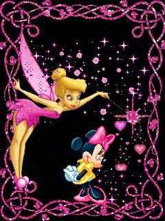 Tinkerbell & Minnie