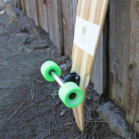 "Globe Prebuilt 44"" Big Pinner Bamboo Longboard Shape"