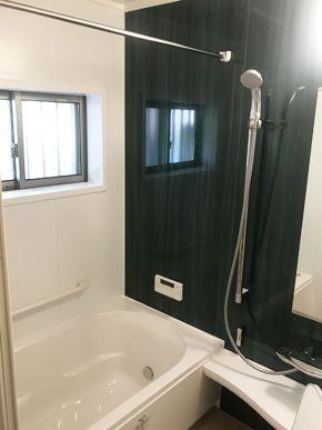 タイル張り浴室をシステムバスに改装しました 姫路市 o様邸 浴室改装工事 費用 120万 工期 7日 タイル張り 改装 リフォーム
