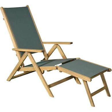 Chaise longue de jardin en acacia FSC