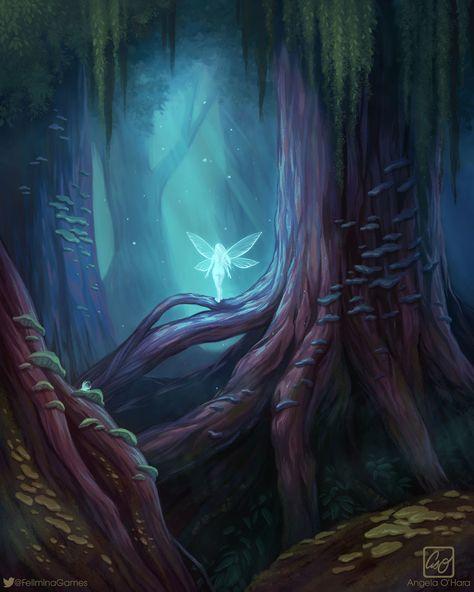The Magic Forest, Angela O'Hara