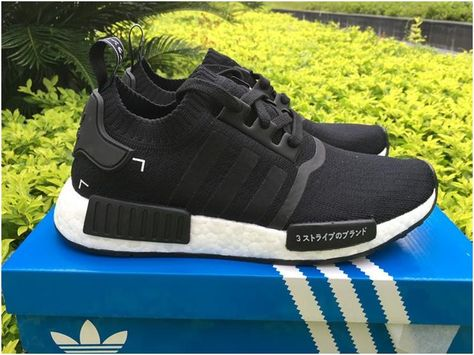 "e0e24548cae10 Adidas NMD R1 Primeknit ""Black Japan""6"
