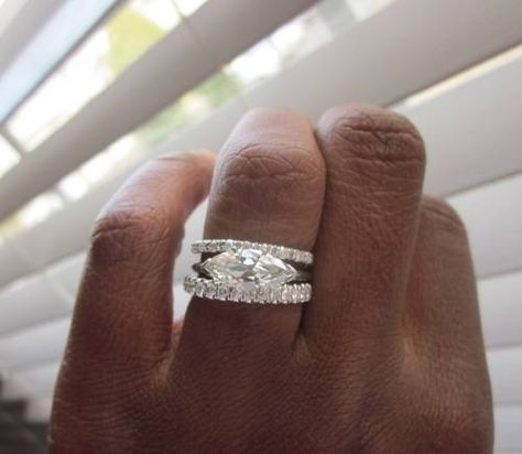 Bobby this is what I want!! lol  E-W set marquise
