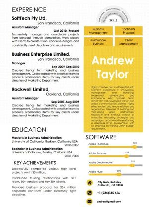 Best Word Resume Templates Images On
